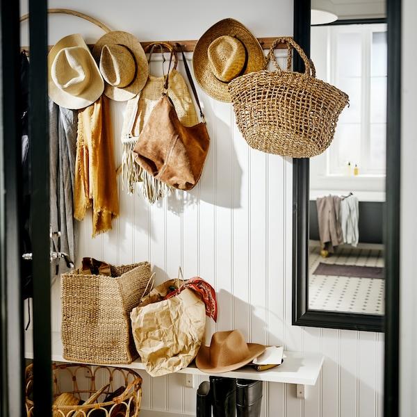 Un guía paso a paso para lograr un estilo rústico en tu recibidor.
