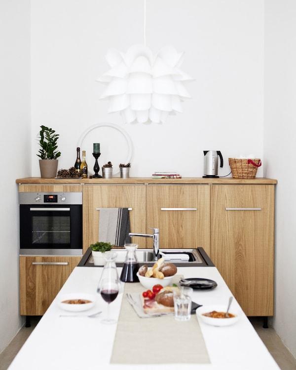 Inspiration pour une petite cuisine ikea Evier ikea cuisine