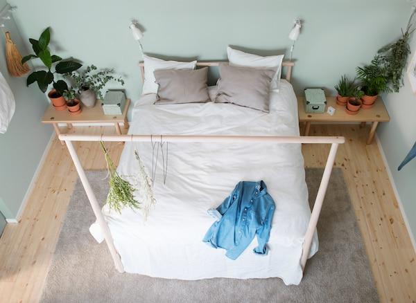 Letti Bassi Ikea : Consigli per una camera da letto rilassante e sostenibile ikea
