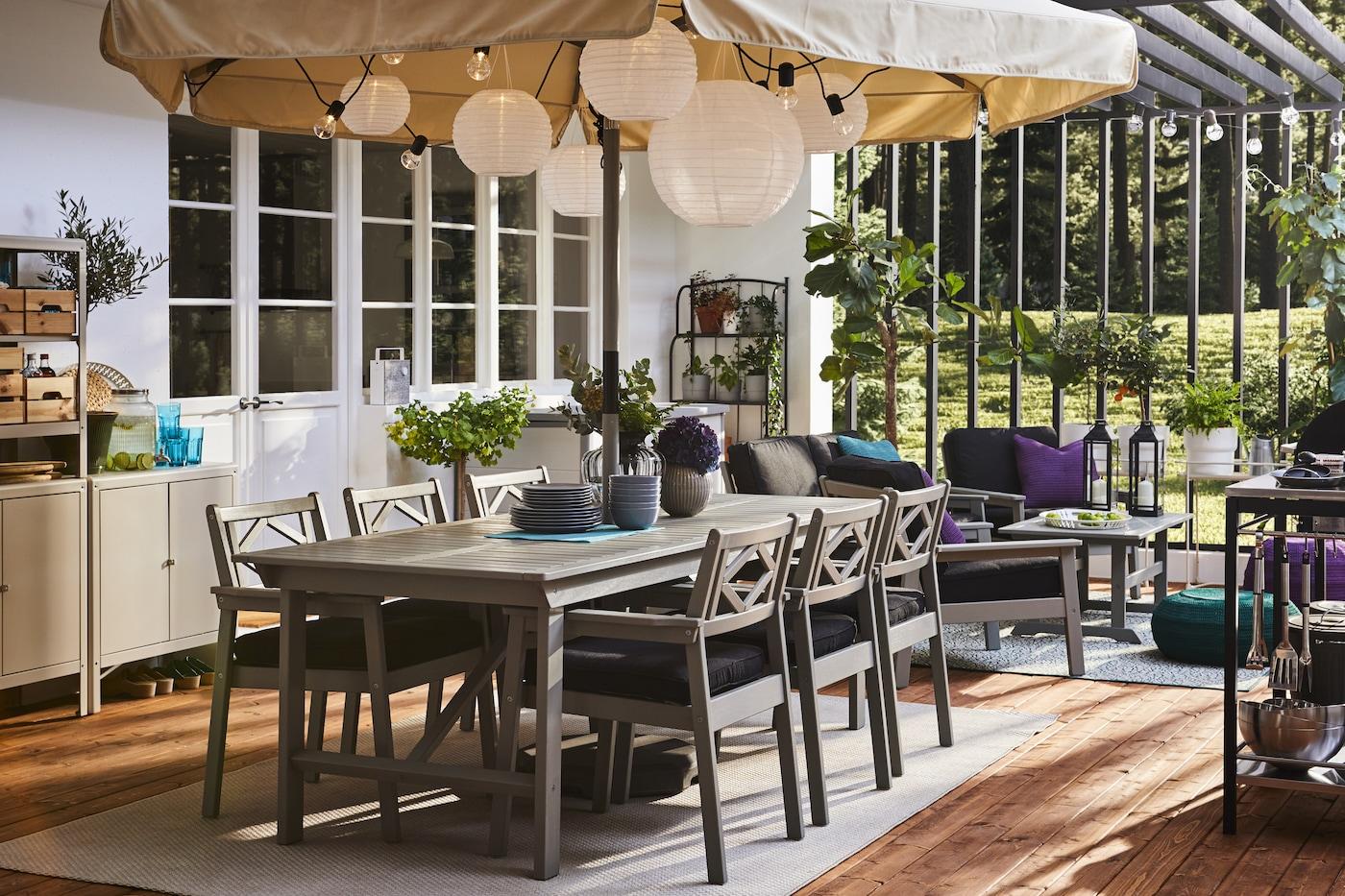 Inspiration Uteplats Och Balkong Ikea