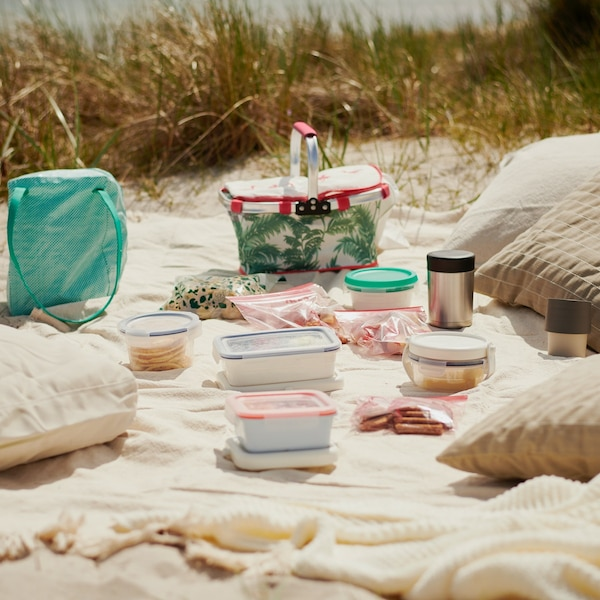 Un pique-nique sur la plage