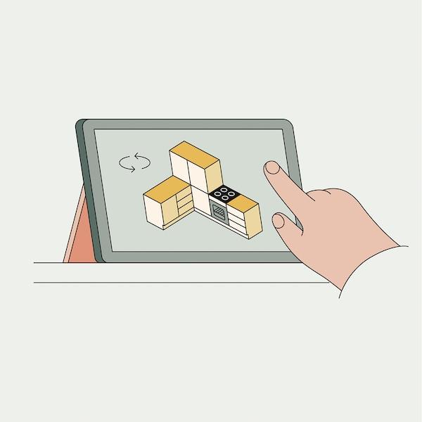 Un planificator care îți permite să îți construiești propriul sistem de depozitare METOD.