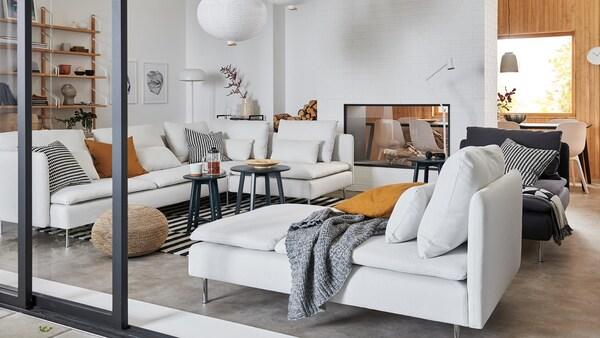 Un salon cosy et chaleureux
