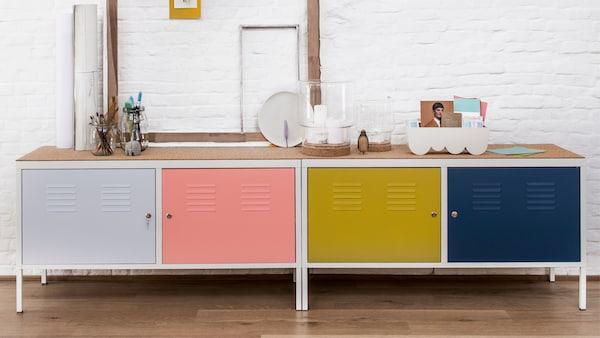 Un simple casier devient un cabinet de design à la mode