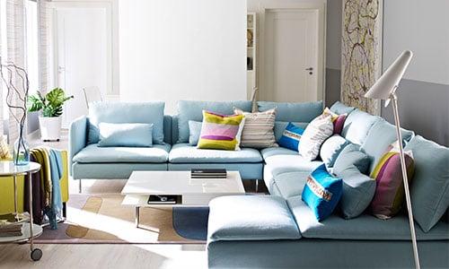 Un sofá que va con tu estilo de vida - planificador SÖDERHAMN