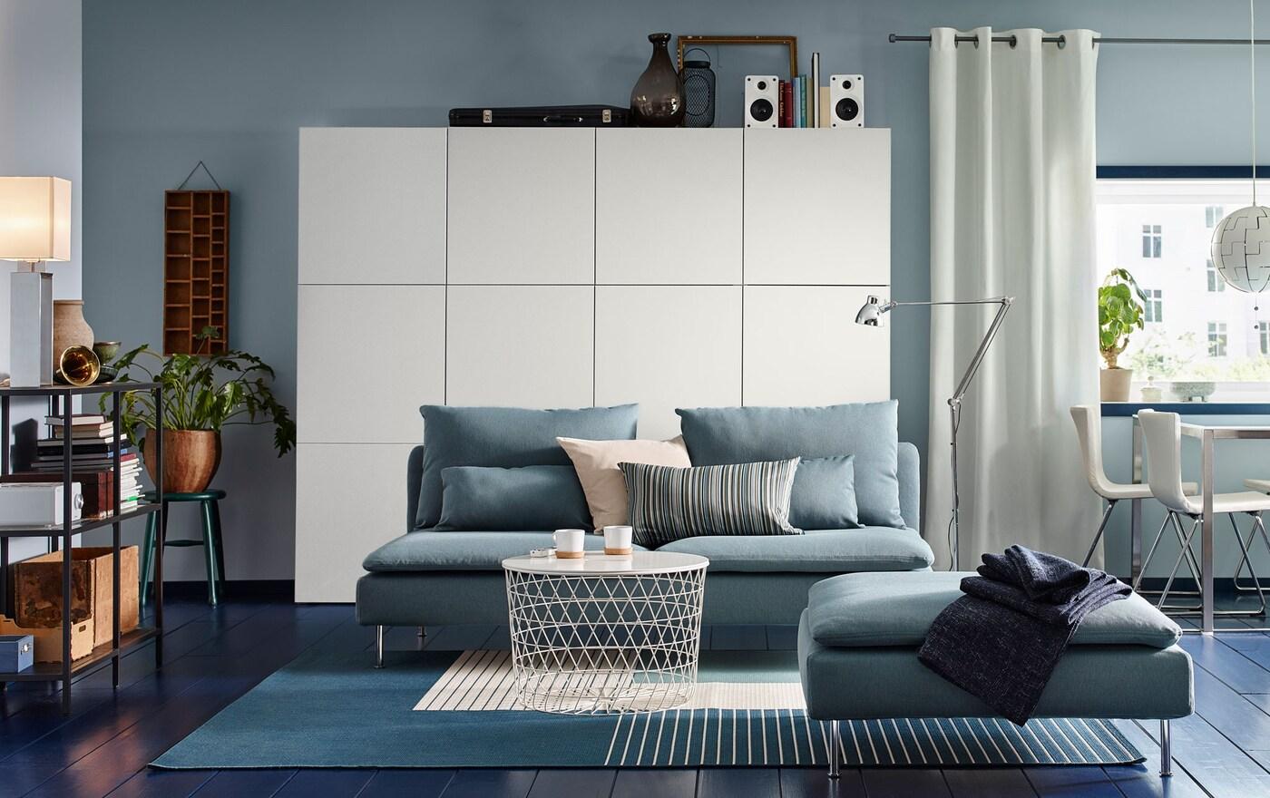 Salotto in azzurro | IDEE Soggiorno - IKEA IT