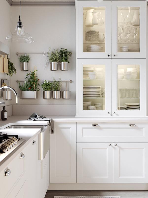 Cocina Axstad En Blanco Mate Moderna Y Tradicional Ikea