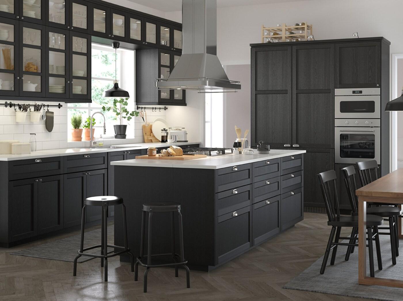 Cucina Bianca E Nera Ikea lasciati ispirare dalle nostre cucine - ikea