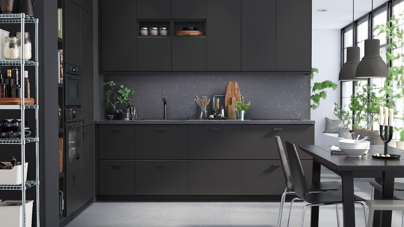 Frontali ecologici con una nota dark - IKEA IT