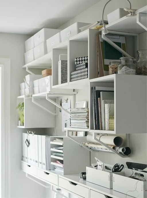 Decoración de oficina en el salón IKEA