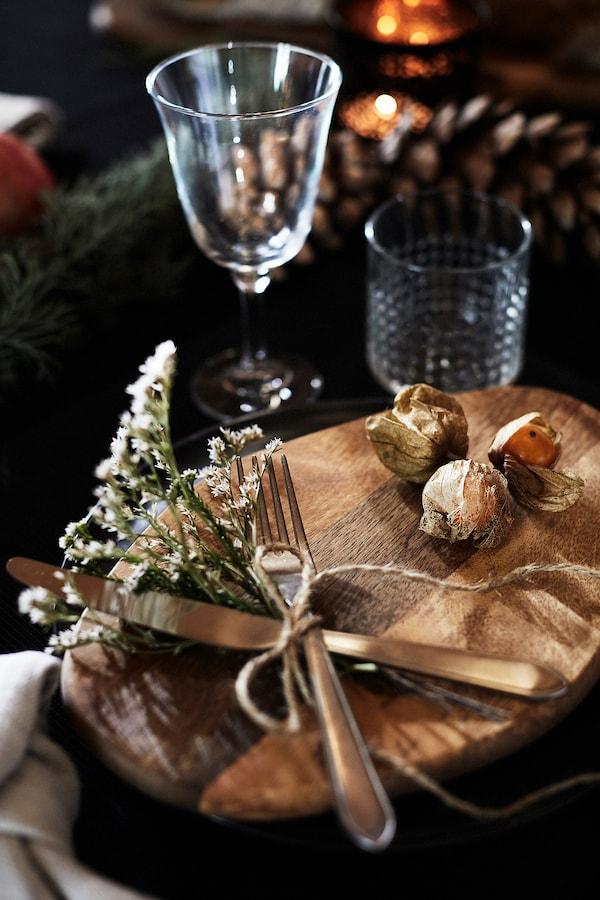 Une table festive