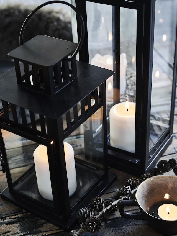 Une table hivernale magnifique