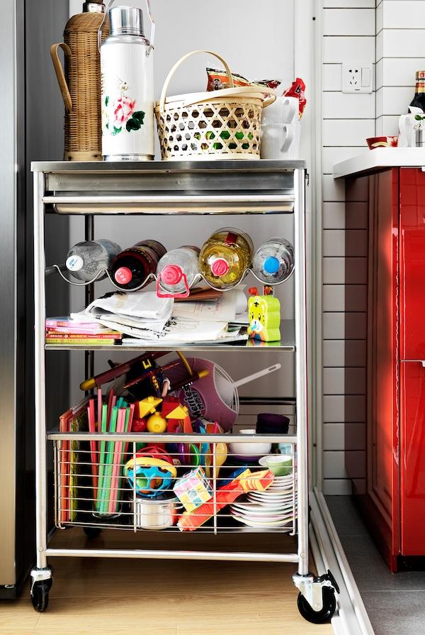 Smart Ideas For Kitchen Storage Ikea