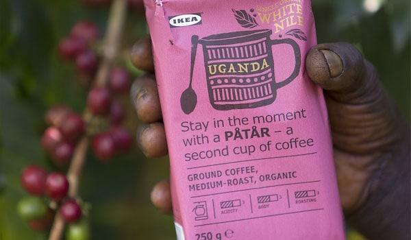 UTZ-zertifizierter PÅTÅR Kaffee von IKEA