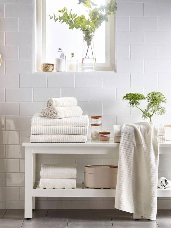 VÅGSJÖN bath towels