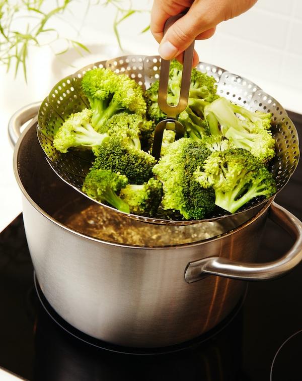 Vaporera para cocinar al vapor fácilmente