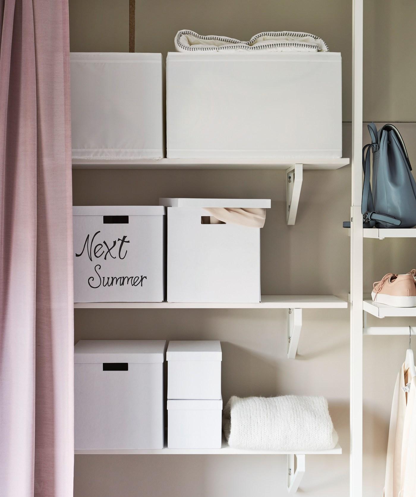 cajas de almacenaje para armarios ikea