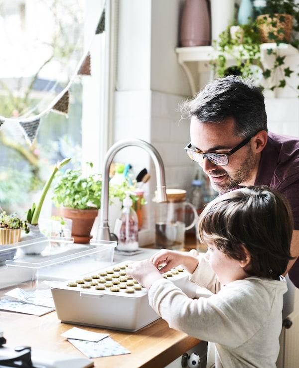 Ikea Küche Hintergrund: Indoor Garten Selber Gestalten Für Kinder