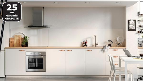 Page Finitions Cuisine Veddinge Blanc Ikea