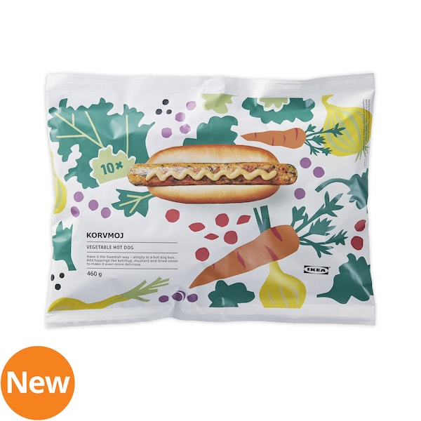 Vegetable hotdog