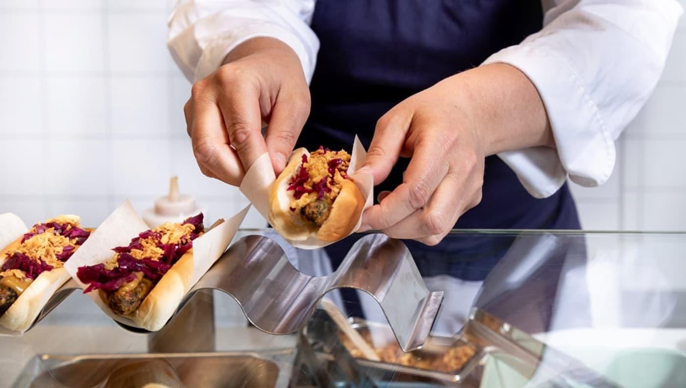 veggie hotdog- plantaardig-duurzaam