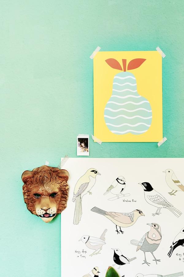 Veillez à ce que les enfants puissent déplacer la déco dans leur chambre.