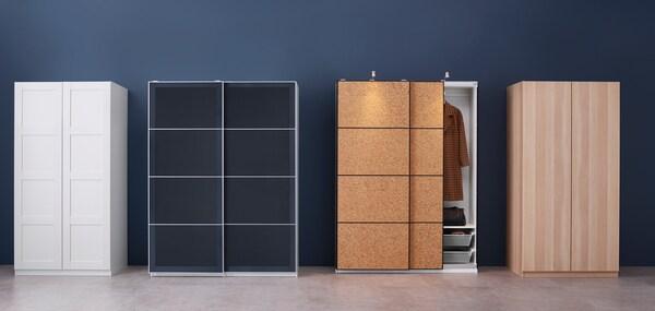 Verschiedene PAX Kleiderschränke von IKEA