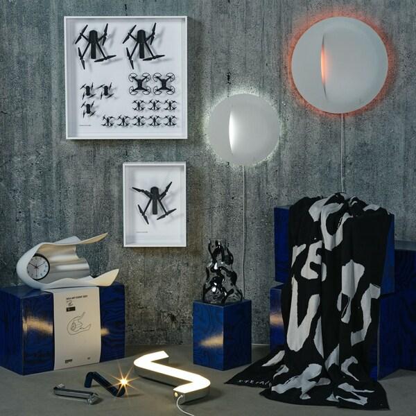 Verschiedene Produkte der IKEA Art Event 2021 Kollektion