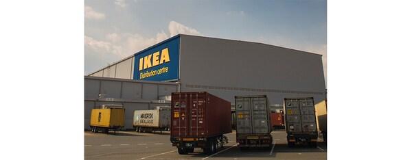 Verteilzentrum ins Ausland Logistik