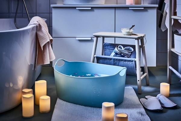 Verwandle dein Badezimmer in ein Fest für die Sinne