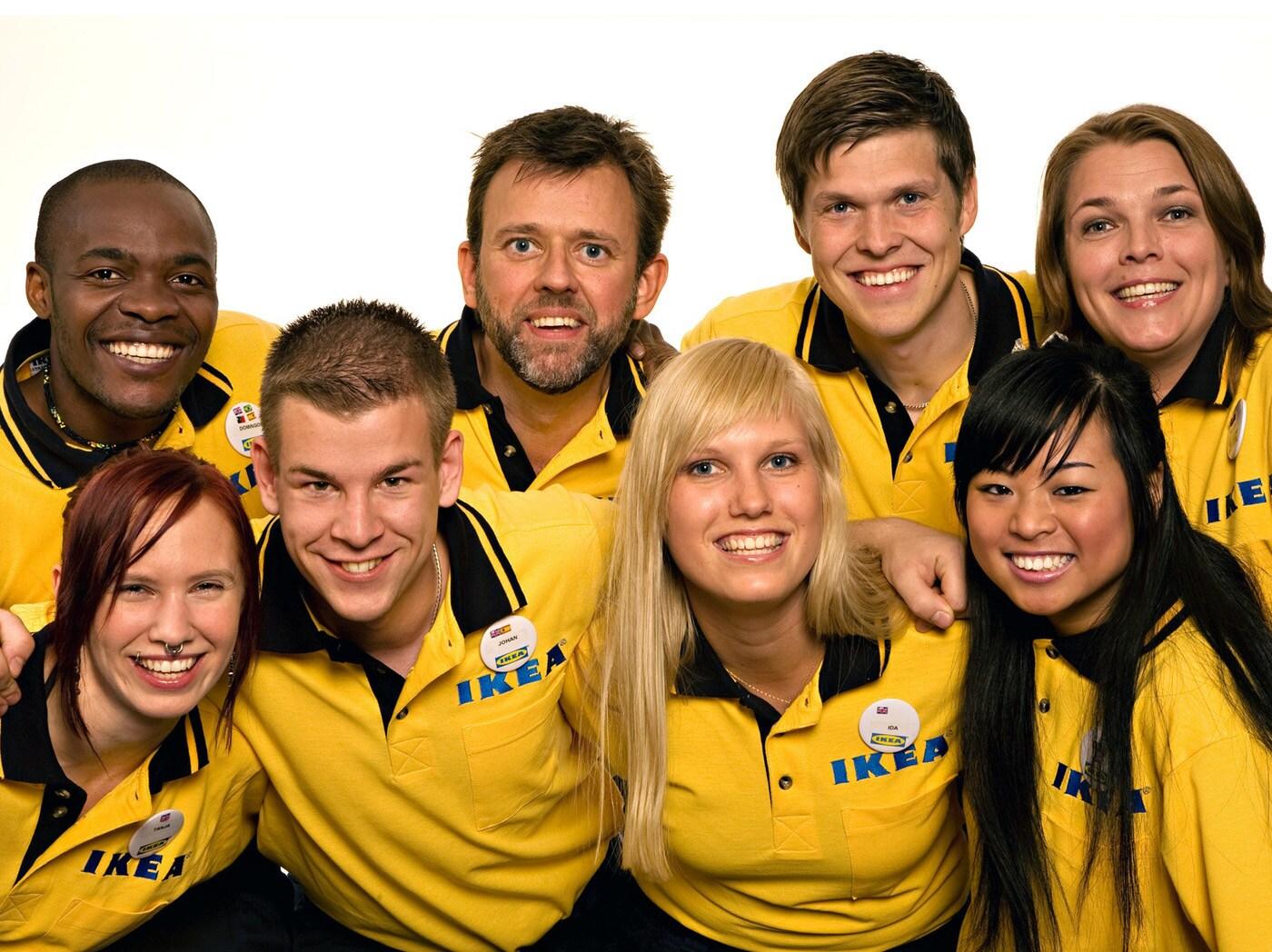 Většina lidí vidí výrobky IKEA. My vidíme všechny ty inspirující osobnosti, které je umožnily.