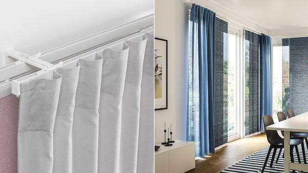 Vidga Curtain Rails And Rail
