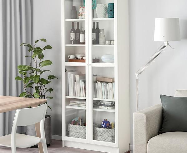 Viele IKEA Produkte sind mit Holz verarbeitet.