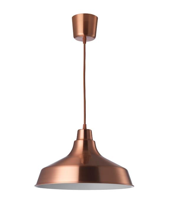 vindkare, hanglamp, koper