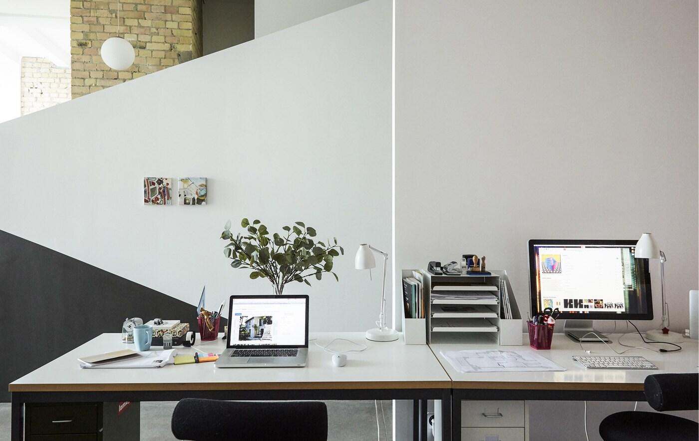 Visite guidée: bureau à domicile d'un couple d'architectes