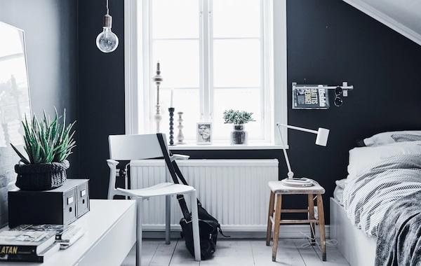 Ideas de dormitorios juveniles prácticos y modernos - IKEA