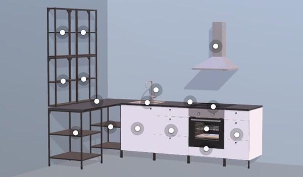 Visualizzatore interattivo cucine ENEHT - IKEA