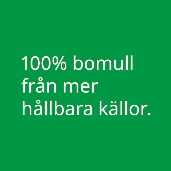 Vit text på grön bakgrund