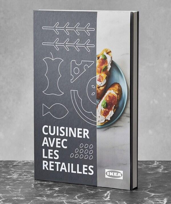 Voici le livre Cuisiner avec les retailles de IKEA