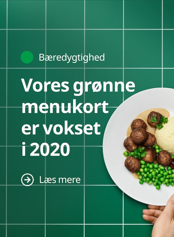 Vores grønne menukort er vokset i 2020. Læs mere