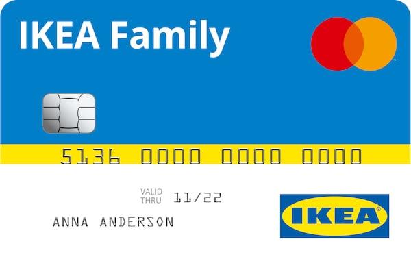 Vorschau der IKEA Family Kreditkarte