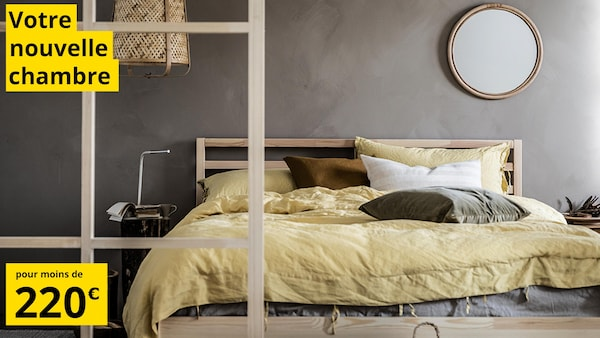 Votre nouvelle chambre pour moins de 220€