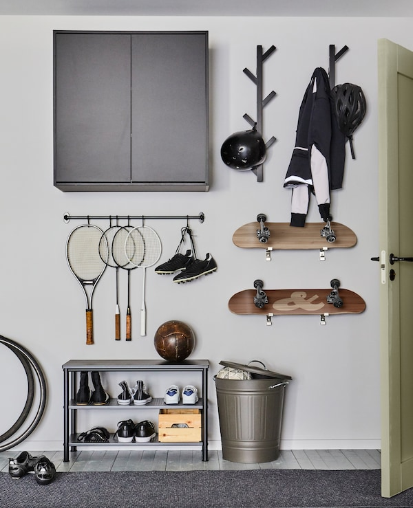 Idees Pour Ranger Vos Affaires De Sport Ikea