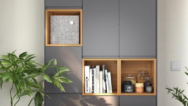 VOXTORP gris mat rangement de cuisine IKEA