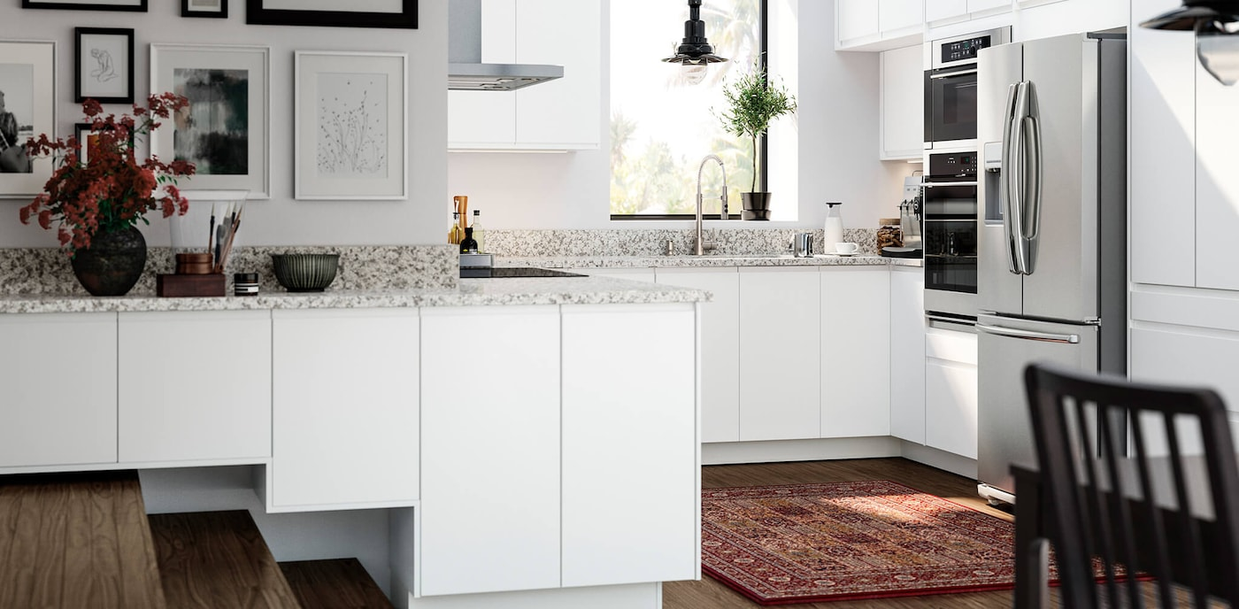 VOXTORP white kitchen series - IKEA