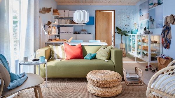 Voyez notre galerie complète d'idées pour le salon. Meubles et accessoires pour le salon et décoration intérieure.