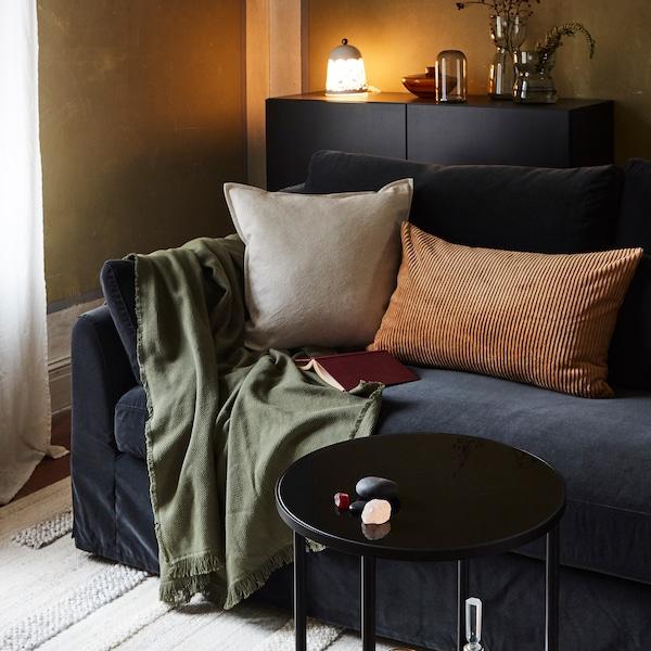 Vytvořte si na podzim útulnější obývací pokoj.