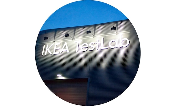 واحد من مختبرين اثنين لاختبار المنتجات في ايكيا، أحدهما في ألمهولت، السويد والآخر في شانغهاي، الصين.
