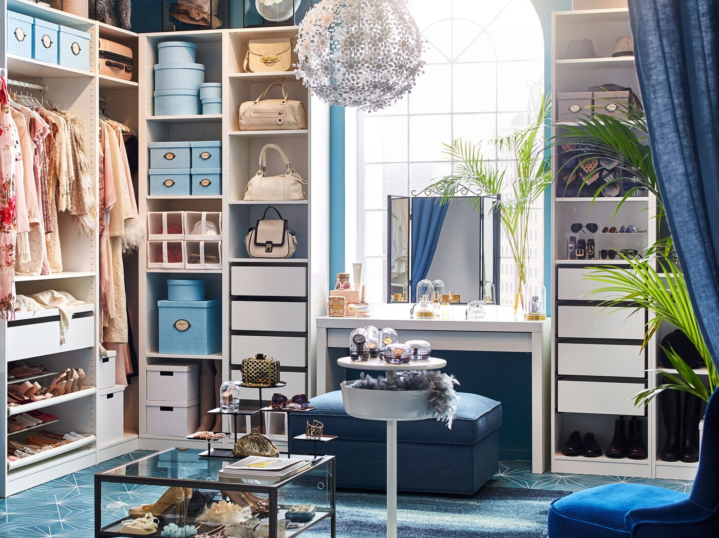 The All In Walk In Closet Bedroom Inspiration Ikea