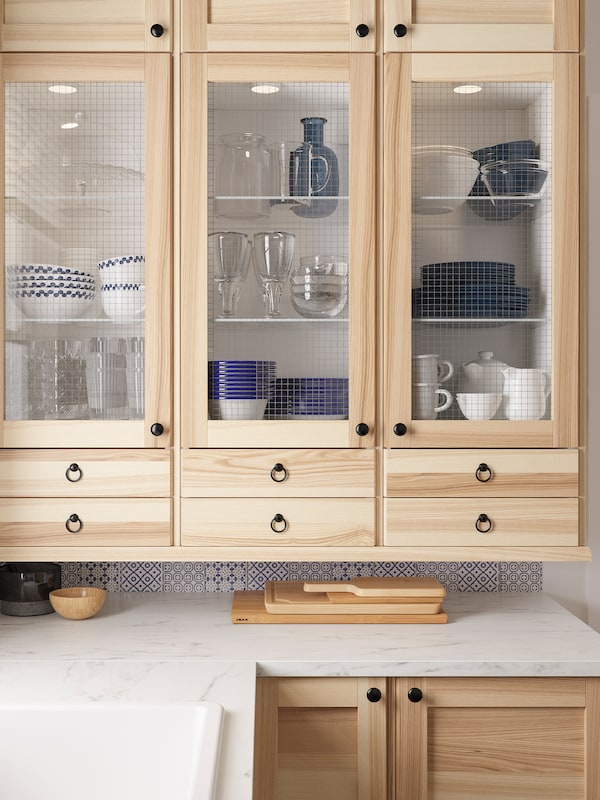 A Simple And Functional Torhamn Natural Ash Kitchen Ikea